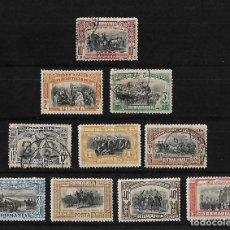 Sellos: RUMANIA 1906 40ª ANIVERSARIO DEL REINADODE CARLOS I SERIE COMPLETA. Lote 111985863