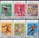 Sellos: RUMANIA 1994 IVERT 4134/39 *** JUEGOS OLIMPICOS DE INVIERNO EN LILLEHAMER - DEPORTES. Lote 116941527
