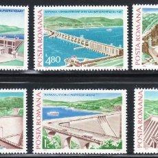 Sellos: RUMANIA ARTE. ARQUITECTURA 1978 3088/93 6V.. Lote 117418575