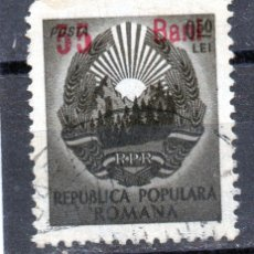 Sellos: ++ RUMANIA / ROMANIA / ROUMANIE AÑO 1952 YVERT NR.1182 USADA OVERPRINT. Lote 22876868