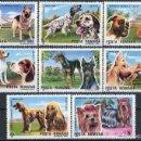 Sellos: RUMANIA 1990 IVERT 3869/76 *** EXPOSICIÓN CANINA INTERNACIONAL DE BRNO - PERROS - FAUNA. Lote 122808935
