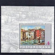 Timbres: ++ RUMANIA / ROMANIA / ROEMENIE AÑO 1972 YVERT NR.100 NUEVO VENECIA . Lote 123352839
