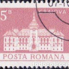 Sellos: 1973 - RUMANIA - EDIFICIOS / TURISMO - CRAIOVA - YVERT 2757. Lote 137963454