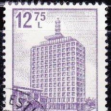 Sellos: 1972 - RUMANIA - EDIFICIOS / TURISMO - BUCAREST - EDIFICIO TELEVISION - YVERT 2791. Lote 137969842