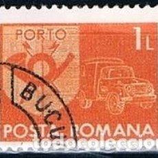 Sellos: RUMANIA SELLO 1974 USADO Y T138B. Lote 145451178