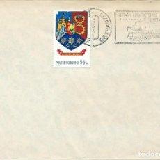 Sellos: 1980. RUMANÍA/ROMANIA. RODILLO/SLOGAN. TRANSPORTE/TRANSPORT. CAMIONES/TRUCKS.. Lote 151007906