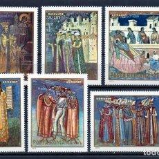 Stamps - ++ RUMANIA / ROMANIA / ROEMENIE año 1970 yvert nr. 2525/30 nueva cuadros - 154855990
