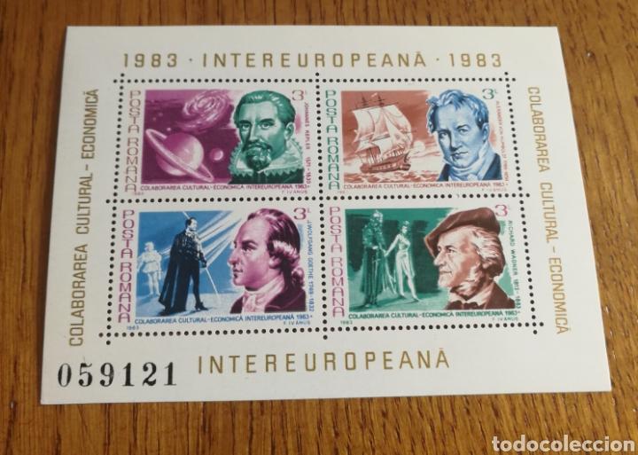 RUMANIA : INTEREUROPEANA 1983 MNH. (Sellos - Extranjero - Europa - Rumanía)