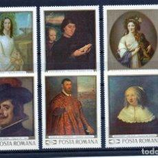 Stamps - ++ RUMANIA / ROMANIA / ROEMENIE año 1969 yvert nr. 2489/94 nuueva cuadros - 157919270