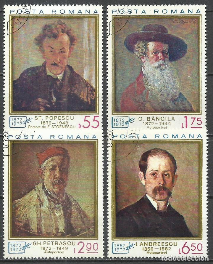 RUMANIA - 1972 - MICHEL 3044/3047 - USADO (Sellos - Extranjero - Europa - Rumanía)