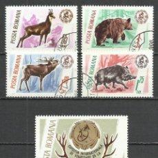 Stamps - Rumania - 1965 - Michel 2460/2464 - Usado - 159894126