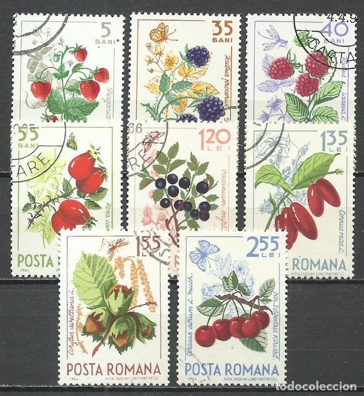 RUMANIA - 1964 - MICHEL 2361/2368 - USADO (Sellos - Extranjero - Europa - Rumanía)