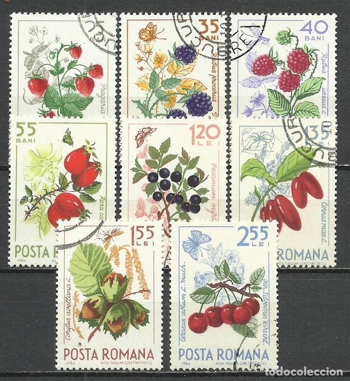 RUMANIA - 1964 - MICHEL 2361/2368 - USADO (Stamps - International - Europe - Romania)