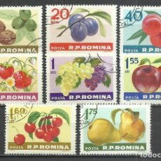 Stamps - Rumania - 1963 - Michel 2176/2183 - Usado - 159894394