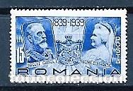 RUMANÍA, 1939,CENTENARIO DEL NACIMIENTO DEL REY CARLOS 1º,NUEVOS,MNH**,YVERT 564 (Sellos - Extranjero - Europa - Rumanía)