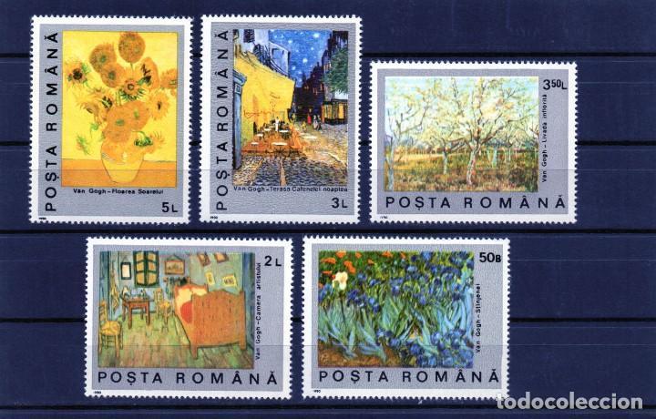 ++ RUMANIA / ROMANIA / ROEMENIE AÑO 1991 YVERT NR. 3916/20 NUEVA CUADROS (Sellos - Extranjero - Europa - Rumanía)