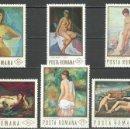 Sellos: RUMANIA - 1971 - MICHEL 2946/2951** MNH . Lote 161258982