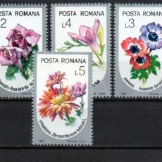 Francobolli: ++ RUMANIA / ROMANIA / ROEMENIE AÑO 1986 YVERT NR. 3677/82 NUEVA FLORES. Lote 161292234