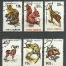 Sellos: RUMANIA - 1993 - MICHEL 4901/4910 - USADO. Lote 161645878