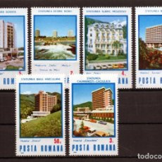 Timbres: ++ RUMANIA / ROMANIA / ROUMANIE AÑO1986 YVERT NR. 3664/69 NUEVA BALNEARIOS TERMALES. Lote 163487734