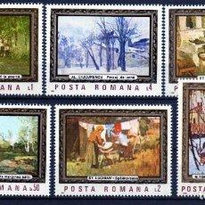 Francobolli: ++ RUMANIA / ROMANIA / ROUMANIE AÑO 1987 YVERT NR. 3730/35 NUEVA CUADROS. Lote 163606414