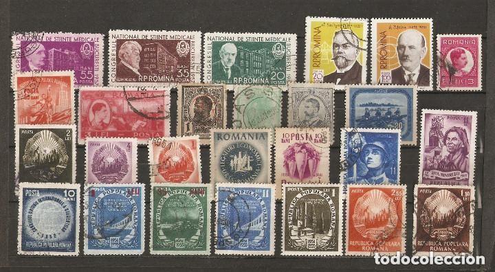 RUMANIA. 1961-70. LOTE 26 USADOS (Sellos - Extranjero - Europa - Rumanía)