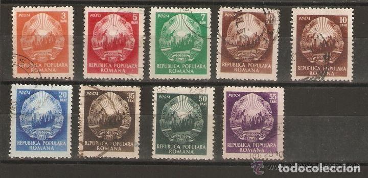 RUMANÍA. 1952- YVERT 1264/1270 (Sellos - Extranjero - Europa - Rumanía)