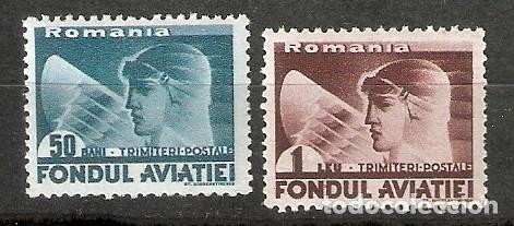 RUMANÍA. 1936- AÉREO. YT Nº 25,26 (Sellos - Extranjero - Europa - Rumanía)