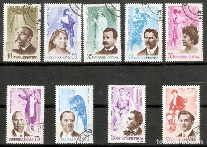 RUMANÍA. 1964. YT Nº 1959/67. OPERA (Sellos - Extranjero - Europa - Rumanía)