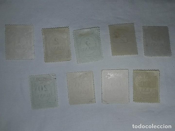 Sellos: Lote 9 sellos Taxa de Plata Rumanía Scott J varios - Foto 4 - 167593016