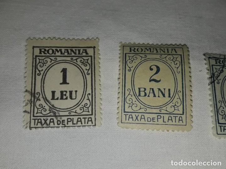 Sellos: Lote 9 sellos Taxa de Plata Rumanía Scott J varios - Foto 5 - 167593016