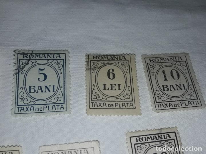 Sellos: Lote 9 sellos Taxa de Plata Rumanía Scott J varios - Foto 6 - 167593016