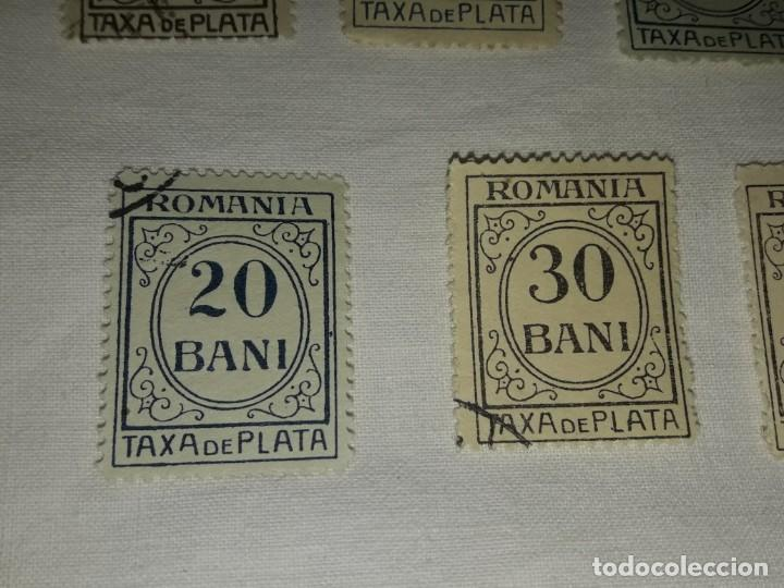 Sellos: Lote 9 sellos Taxa de Plata Rumanía Scott J varios - Foto 7 - 167593016