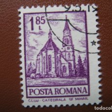 Sellos: RUMANIA, 1972** YVERT 2772 CATADRAL DE CLUJ. Lote 170171200