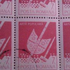 Sellos: 25 SELLOS EN HOJA , RUMANIA, 7L. Lote 177253754