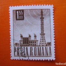 Sellos: -RUMANIA 1967, TELEVISION, YVERT 2357. Lote 189548305