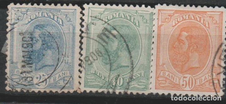 LOTE P SELLOS RUMANIA 1893-99 (Sellos - Extranjero - Europa - Rumanía)
