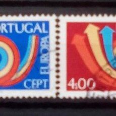 Sellos: PORTUGAL TEMA EUROPA SERIE DE SELLOS USADOS. Lote 189888537