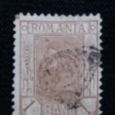 Sellos: RUMANIA, ROMANIA, 1 BANI, REY CAROL I, AÑO 1893.1903, . Lote 192745340