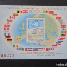 Sellos: SELLOS DE EUROPA RUMANIA.1983 BLOCK 196 -1980 BLOCK 175-Y 1983 BLOCK**. Lote 199766965