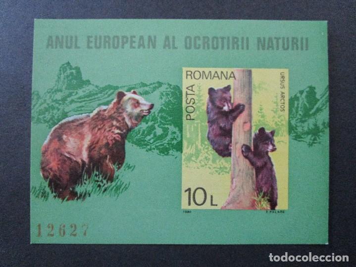 SELLOS DE RUMANIA 1980 BLOCK 168 Y 1982 BLOCK 190** (Sellos - Extranjero - Europa - Rumanía)