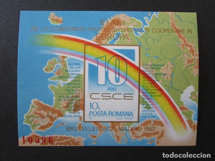 Sellos: SELLOS DE RUMANIA 1980 BLOCK 168 Y 1982 BLOCK 190** - Foto 2 - 199767732