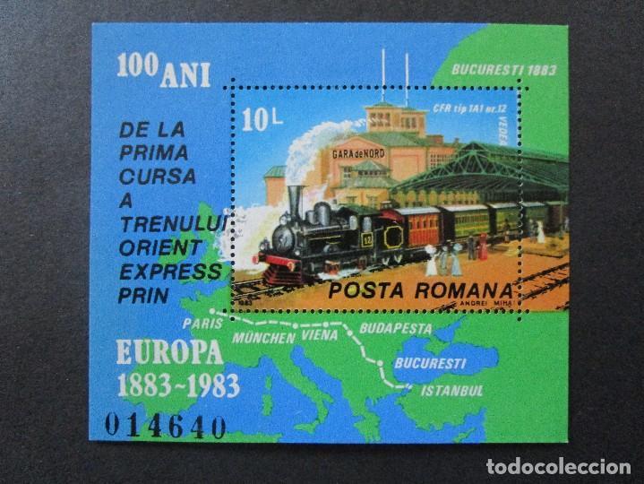 Sellos: SELLOS DE EUROPA RUMANIA.1983 BLOCK 196 -1980 BLOCK 175-y 1983 block** - Foto 3 - 199766965