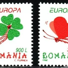 Sellos: RUMANIA,MNH, FESTIVALES NACIONALES, EUROPA CEPT 1998 (FOTOGRAFÍA REAL). Lote 202598251
