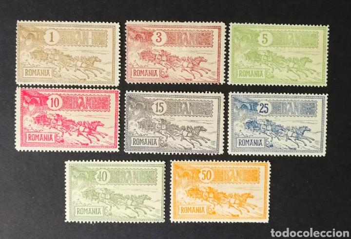 RUMANIA, N°137/44 MH, AÑO 1903 (FOTOGRAFÍA REAL) (Sellos - Extranjero - Europa - Rumanía)