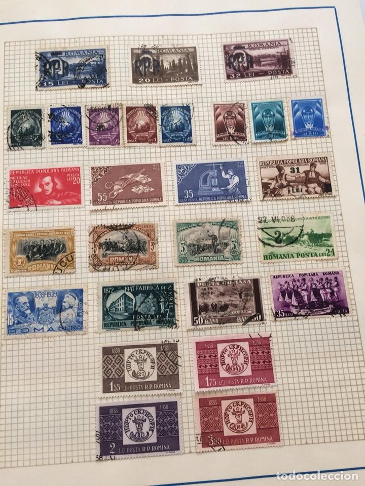 Sellos: Lote mas de 200 sellos Rumania 1858 - 1958 - Foto 7 - 204527875