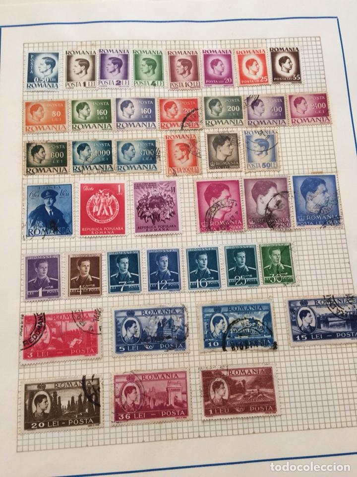 LOTE MAS DE 200 SELLOS RUMANIA 1858 - 1958 (Sellos - Extranjero - Europa - Rumanía)