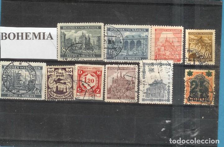 LOTE DE SELLOS DE BOHEMIA Y MORAVIA (Sellos - Extranjero - Europa - Rumanía)