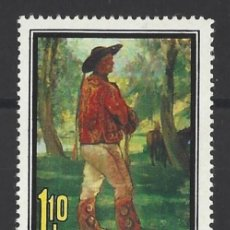 Sellos: RUMANIA 1973 - DIA DEL SELLO - YVERT Nº 2815**. Lote 206571321