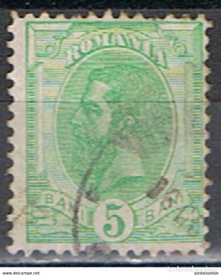 RUMANIA // YVERT 127 // 1900-08 ... USADO (Sellos - Extranjero - Europa - Rumanía)